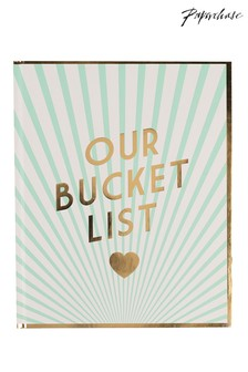 Paperchase Wedding Couples Bucket List