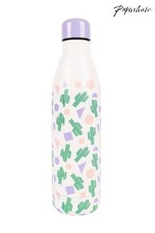 בקבוק מים מתכת עם קקטוסים של Paperchase
