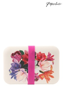 Paperchase Floral Bamboo Lunch Box
