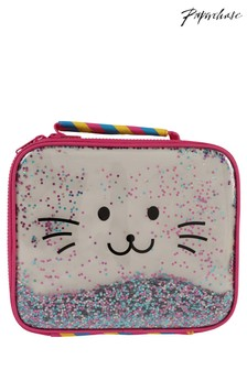 Paperchase Cat Glitter Lunch Bag