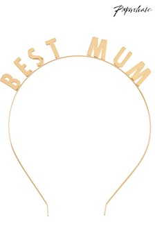 Paperchase Best Mum Headband