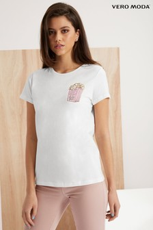 Vero Moda Pops Short Sleeve Top
