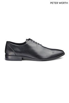 Peter Werth Leather Lace Up Brogue Shoes