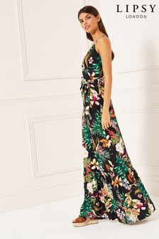 Lipsy Tropical Maxi Dress