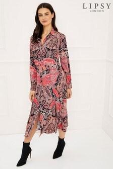 10d21028de0d Buy Women s dresses Shirtdress Shirtdress Purple Purple Dresses from ...