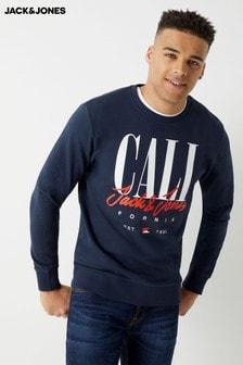 Jack & Jones Cali Sign Logo Sweatshirt