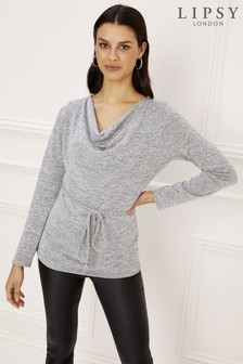 Lipsy Cowl Neck Top