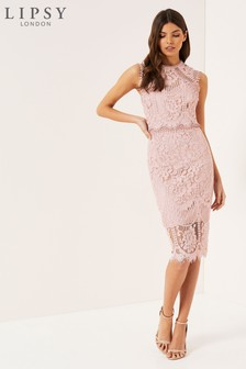Lipsy VIP Lace Midi Dress