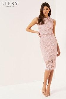 Кружевное платье миди Lipsy VIP
