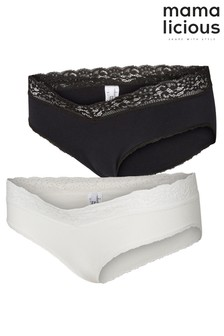 Mamalicious Maternity Briefs - Pack Of 2