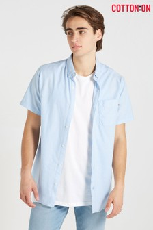 Cotton On Short Sleeve Oxford Shirt