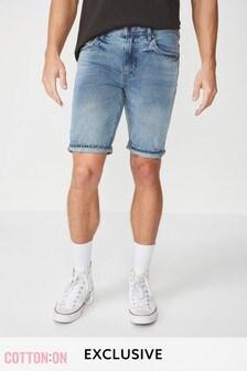Cotton On Mid Wash Denim Shorts