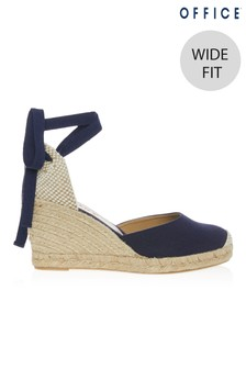 Office Wide Fit Espadrille Wedges