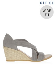 Office Wide Fit Espadrille Wedge