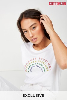 Cotton On Stronger Together T-Shirt