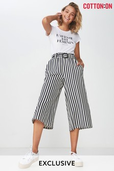 Cotton On High-Waist Culottes