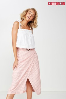 Cotton On Wrap Skirt
