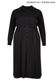 Dorothy Perkins Curve Midi Shirt Dress