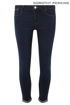 58c02042cb3a4 Dorothy Perkins Harper Low Rise Stretch Skinny Jeans