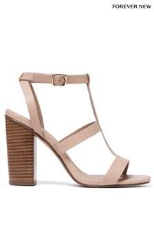 Forever New Jada Caged Block Heel Sandal