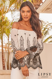 1350db154b2995 Bardot Off Shoulder Tops | Womens Casual & Partywear Tops | Next
