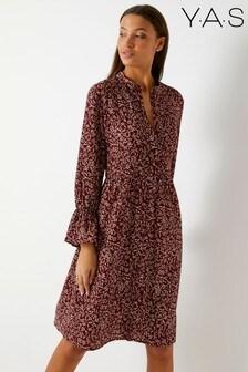 Y.A.S Floral Midi Dress