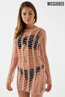 Missguided Crochet Dress