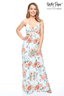 Want That Trend Floral Maxi Dress