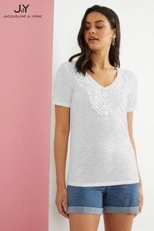 JDY Crochet T-Shirt