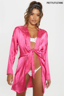 Buy Women s nightwear Nightwear Robes Robes Prettylittlething ... ad2e841ef