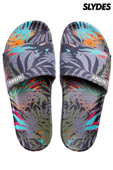 Slydes All Over Tropical Prints Sliders