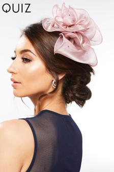 Quiz Flower Jewel Fascinator