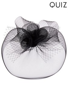 Quiz Large Flower Net Fascinator