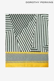 Dorothy Perkins Diagonal Stripe Scarf