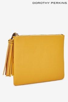 Dorothy Perkins Tassel Clutch Bag