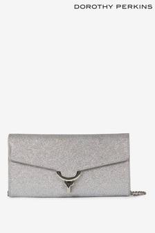 Dorothy Perkins Lock Clutch Bag