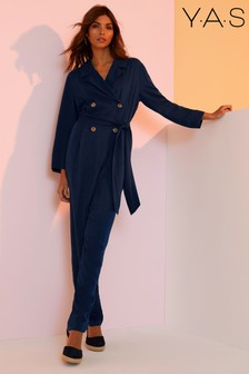 Y.A.S Tailored Jumpsuit With Wrap Detailing