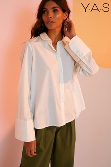 Y.A.S Pleat Back Shirt