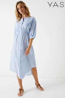 Y.A.S Long Shirt Dress