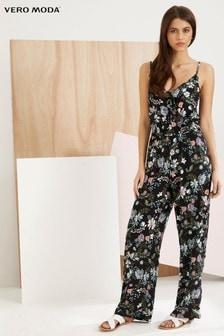 Vero Moda Floral Strappy Jumpsuit
