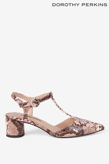 Dorothy Perkins Snake Print Sandals