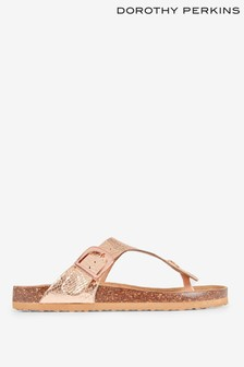 Dorothy Perkins Glitter Buckled Sandals
