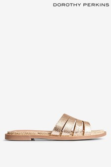 Dorothy Perkins Metallic Slider Sandal