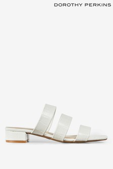 Dorothy Perkins Mule Block Heel Sandals