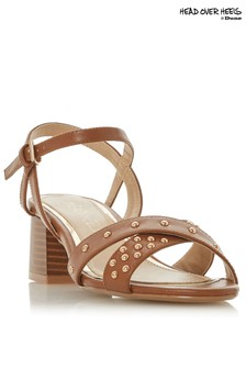 Head Over Heels Mini Stud Heeled Sandals