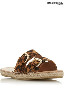 Head Over Heels Laurens Leopard Espadrille