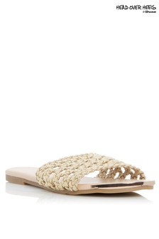 Head Over Heels Leeo Woven Slider