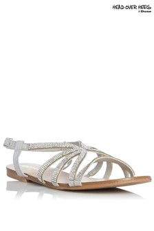 Head Over Heels Embellished Sandals