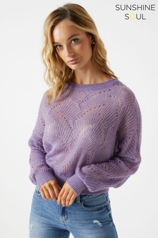 Sunshine Soul Knitted Jumper