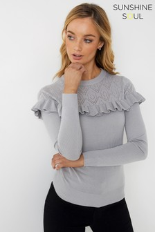 Sunshine Soul Lace Jumper